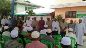 การคัดเลือกอิหม่ามและกรรมการอิสลามประจำมัสยิดนูรุดดีน(บ้านเกาะคลอง 13)